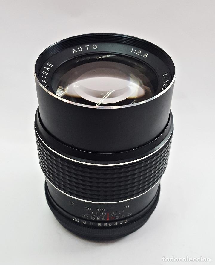 Cámara de fotos: Objetivo para camara KORINAR AUTO.1:2.8 f=135 mm.Rosca - Foto 3 - 143603176