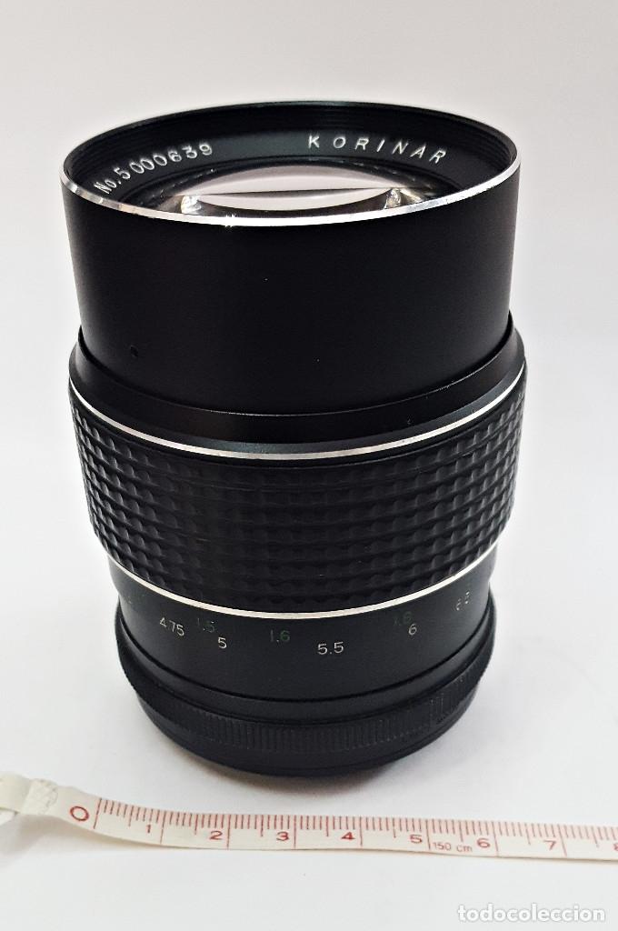 Cámara de fotos: Objetivo para camara KORINAR AUTO.1:2.8 f=135 mm.Rosca - Foto 6 - 143603176