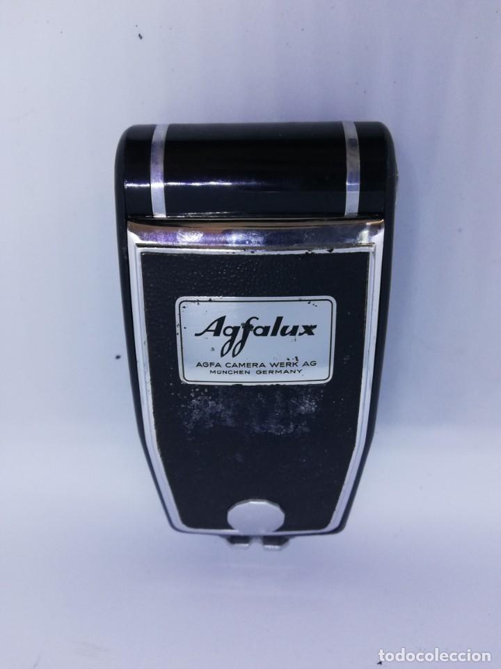 Cámara de fotos: FLASH AGFALUX AGFA CAMERA WERK AG - Flash cámara zeiss Ikon y similares vintage colección - Foto 3 - 157350934