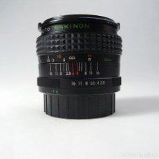 Cámara de fotos: OBJETIVO GRAN ANGULAR PARA PENTAX 28MM F2.8 MARCA MAKINON. Lote 157713678