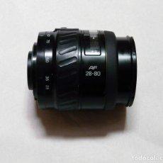 Cámara de fotos: OBJETIVO MINOLTA AF 28-80 MM F4-5.6 MACRO - DEFECTUOSO. Lote 157748402