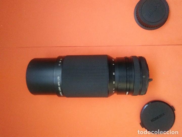 Cámara de fotos: Objetivo ZOOM KOMURA KOMURANON 821 Canon FD - Foto 2 - 158638654