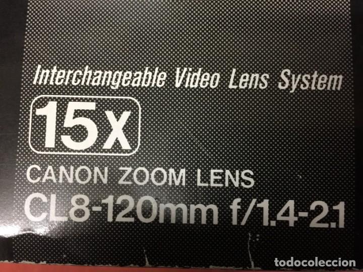 Cámara de fotos: Canon Video Zoom Lens 15X AF Macro Zoom CL 8-120mm 1:1.4-2.1 ; Ø 72mm - Foto 6 - 158727478