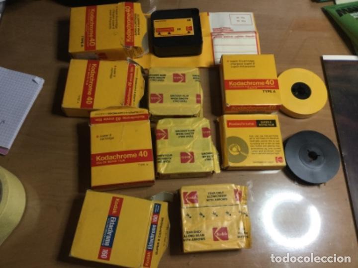 LOTE KODACHOME 40 (VER FOTOS ) SÚPER 8 TYPE A (Cámaras Fotográficas Antiguas - Objetivos y Complementos )