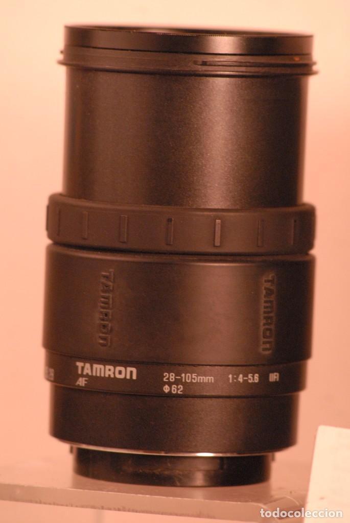 Cámara de fotos: objetivo tamrron sony minolta a.f 28-105-1-4 5.6. estuche tamrron . - Foto 2 - 159215598