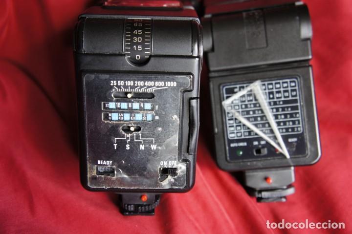 Cámara de fotos: Lote de Dos flashes electrónicos FUNCIONANDO - Foto 3 - 159435166