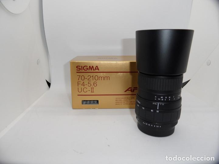 SIGMA 70/210MM F:4-5,6 AF, MONTURA PENTAX K (Cámaras Fotográficas Antiguas - Objetivos y Complementos )
