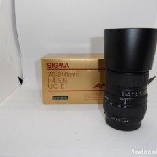 Cámara de fotos - Sigma 70/210mm f:4-5,6 AF, montura Pentax K - 159636842
