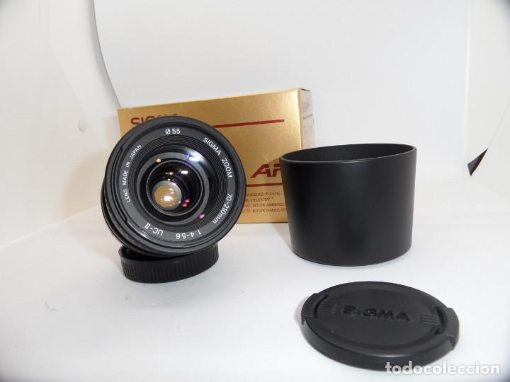 Cámara de fotos: Sigma 70/210mm f:4-5,6 AF, montura Pentax K - Foto 2 - 159636842