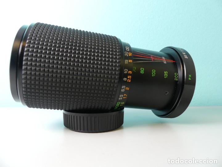 Cámara de fotos: Makinon 70-200mm 1:4,5,montura Pentax - Foto 2 - 159654822