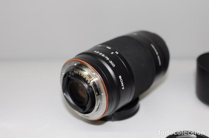SONY 75-300MM F 4.5-5.6 (Cámaras Fotográficas Antiguas - Objetivos y Complementos )