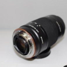 Cámara de fotos: SONY 75-300MM F 4.5-5.6. Lote 159727410