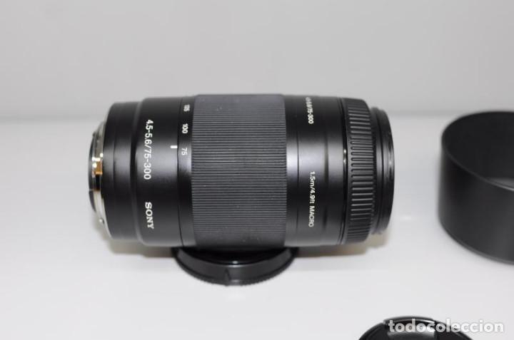 Cámara de fotos: Sony 75-300mm F 4.5-5.6 - Foto 3 - 159727410