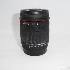 Cámara de fotos: SIGMA 18-200MM !:3,5-6,3 PARA SONY A. Lote 159742410