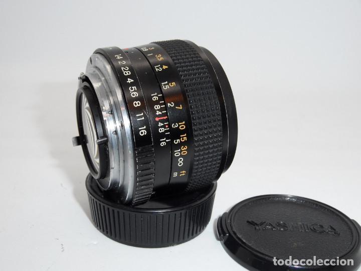 Cámara de fotos: Yashica Lens ML 50mm 1:1.4 - Foto 2 - 159763790