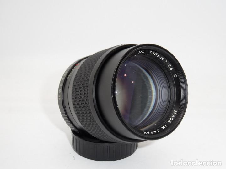 Cámara de fotos: Yashica Lens ML 135mm 1:2,8 - Foto 2 - 159765342