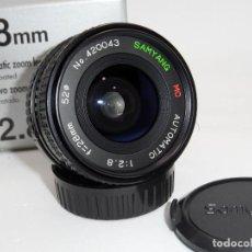 Cámara de fotos: SAMYANG MC AUTOMATIC 1:2,8 28MM YASHICA/CONTAX. Lote 159765906