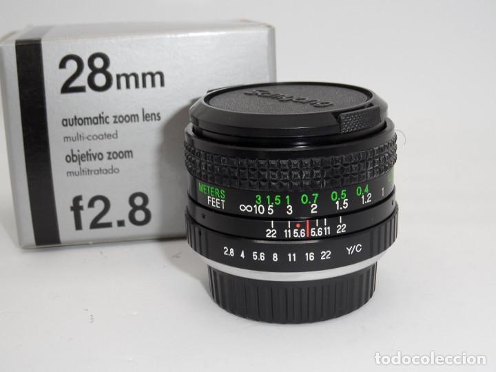 Cámara de fotos: Samyang MC Automatic 1:2,8 28mm Yashica/Contax - Foto 2 - 159765906