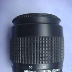 Cámara de fotos - Objetivo original Nikon. Nikkor 35-80. f 4-.5,6..AF. D.( Autofocus). - 160024954