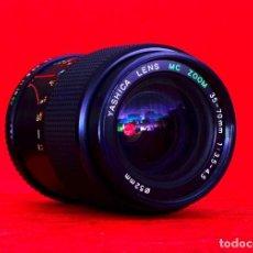 Cámara de fotos - OBJETIVO ZOOM YASHICA ORIGINAL 35-70 mm.3.5-4.5 PARA MONTURA YASHICA CONTAX - 160664606