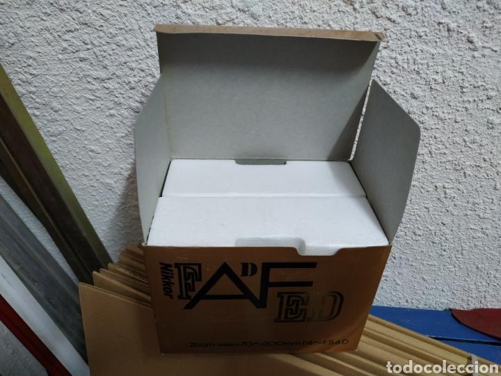 Cámara de fotos: Caja Tele objetivo Nikon Zoom 70-300 Nikkor - Foto 2 - 160927070