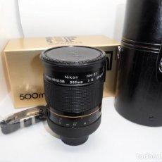 Cámara de fotos: NIKKOR 500 MM F/8.0 REFLEX. Lote 161136438
