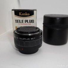 Cámara de fotos: KENKO TELE PLUS MC 7 PARA NIKON. Lote 161221234
