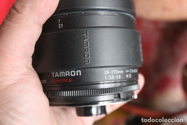 ZOOM TAMRON 28-200 F:3,8-5,6 (Cámaras Fotográficas Antiguas - Objetivos y Complementos )