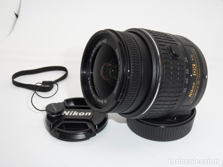 NIKON NIKKOR AF-S DX 18-55 MM F:3.5-5.6G VR II (Cámaras Fotográficas Antiguas - Objetivos y Complementos )
