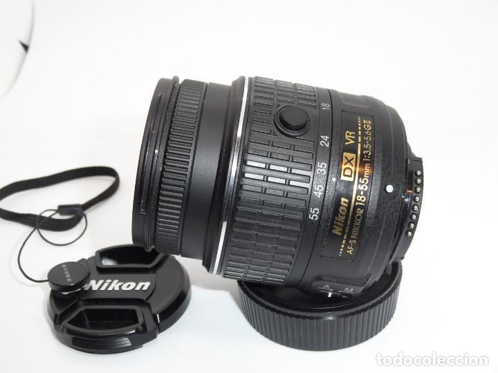 Cámara de fotos: Nikon Nikkor AF-S DX 18-55 mm f:3.5-5.6G VR II - Foto 2 - 161471166