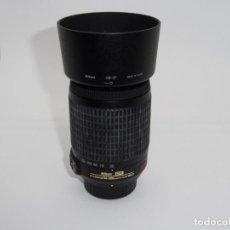 Cámara de fotos: NIKON NIKKOR AF-S DX 55-200 MM F:4-5.6G VR . Lote 161471970