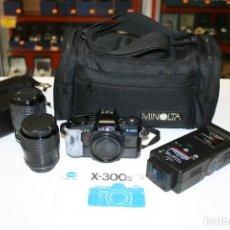 Cámara de fotos: MINOLTA X-300S - SAMYANG 70MM - SAMYANG70-210MM. Lote 161796670