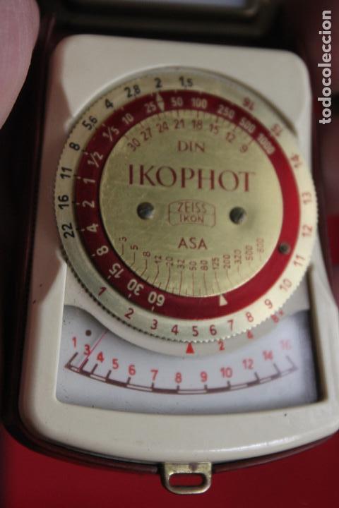 FOTÓMETRO IKOPHOT ZEISS IKON (Cámaras Fotográficas Antiguas - Objetivos y Complementos )