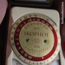 Cámara de fotos: FOTÓMETRO IKOPHOT ZEISS IKON. Lote 161874510