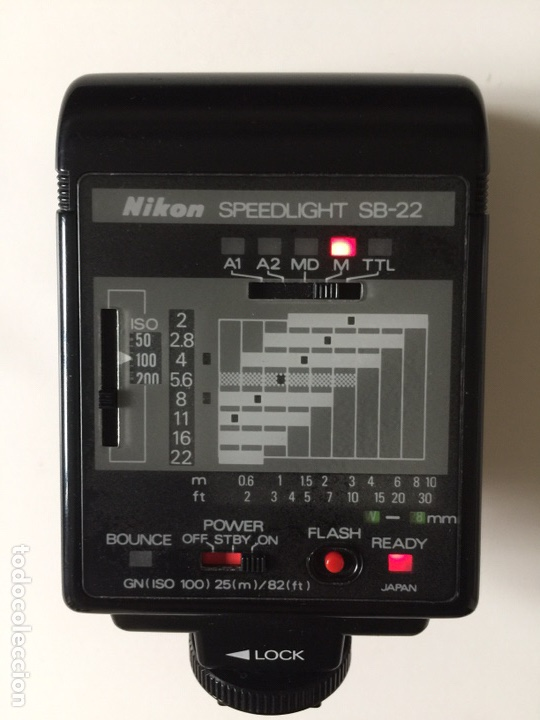 Cámara de fotos: Flash NIKON SB-22 - Foto 7 - 162380005
