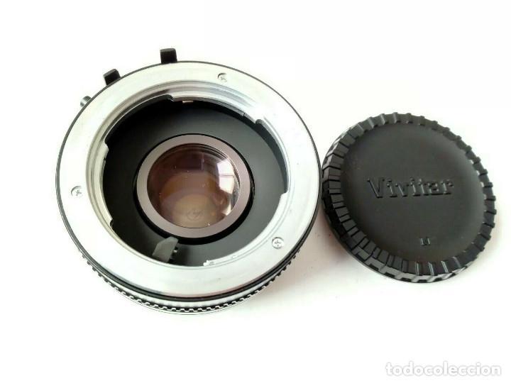 Cámara de fotos: Duplicador para Objetivos MINOLTA: VIVITAR MC TELECONVERTER 2X-5 (Made in Japan) - Foto 4 - 162397538