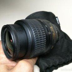 Cámara de fotos: OBJETIVO ZOOM NIKON------AF-S DX NIKKOR 18-55MM F/3.5-5.6G VR---IMPECABLE. Lote 163705086