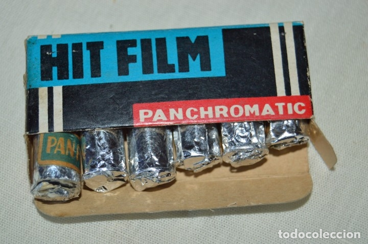 HIT FILM PANCHROMATIC, CAJA DE 6 PELÍCULAS - PARA MINI/MICRO CÁMARAS FOTOGRÁFICAS ANTIGUAS ¡MIRA! (Cámaras Fotográficas Antiguas - Objetivos y Complementos )