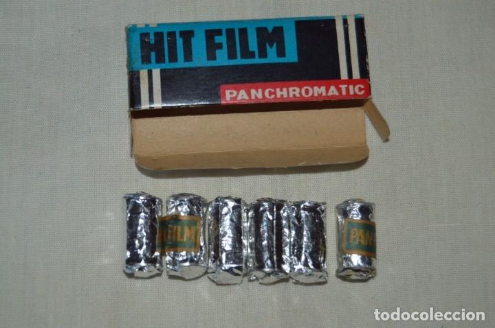 Cámara de fotos: HIT FILM PANCHROMATIC, caja de 6 PELÍCULAS - Para Mini/Micro CÁMARAS FOTOGRÁFICAS antiguas ¡Mira! - Foto 2 - 163776141