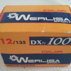 Fotocamere: CARRETE DE FOTOS WERLISA 12/135, PRECINTADO.. Lote 165260034