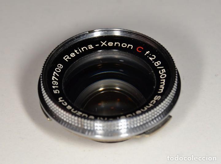 Cámara de fotos: OBJETIVO KODAK RETINA - RETINA XENON C F 2,8/50 REF. 95 - Foto 2 - 165307526