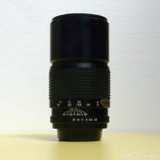 Cámara de fotos: OBJETIVO TELE A ROSCA M42 200MM F3.5 MARCA TOKINA. Lote 165334166