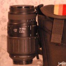Cámara de fotos: OBJETIVO SIGMA ZOOM, MACRO 70-300 1.4-5.6 PARA PENTAX. Lote 165452590