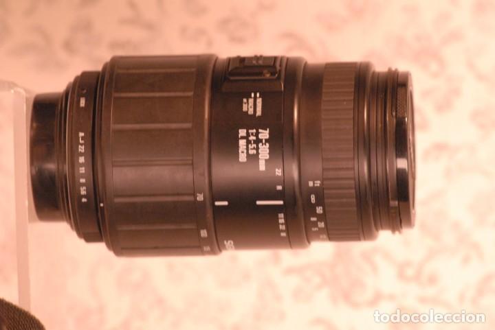 Cámara de fotos: objetivo sigma zoom, macro 70-300 1.4-5.6 para pentax - Foto 2 - 165452590