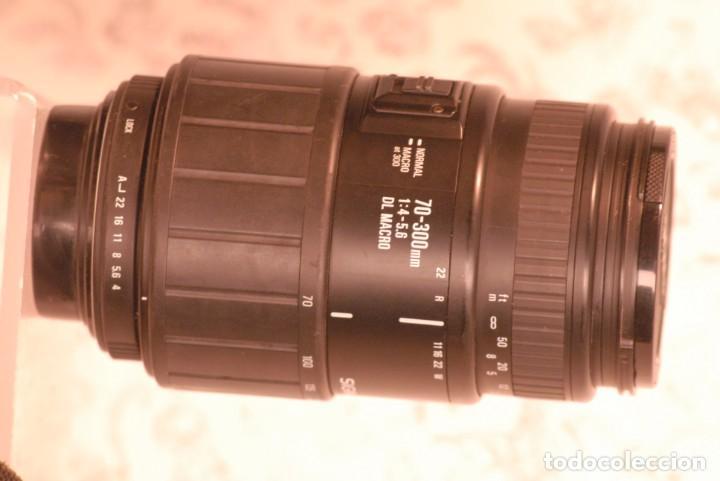 Cámara de fotos: objetivo sigma zoom, macro 70-300 1.4-5.6 para pentax - Foto 3 - 165452590