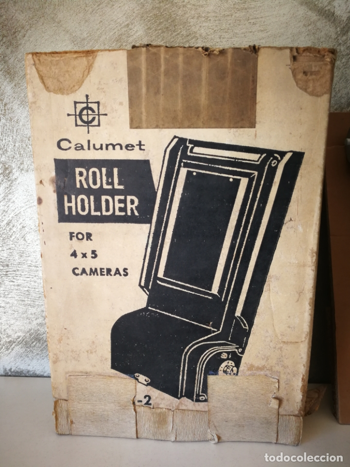 Cámara de fotos: ROLL HOLDER MODEL C2 CALUMET - Foto 2 - 165822174