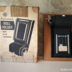 Cámara de fotos: ROLL HOLDER MODEL C2 CALUMET. Lote 165822174