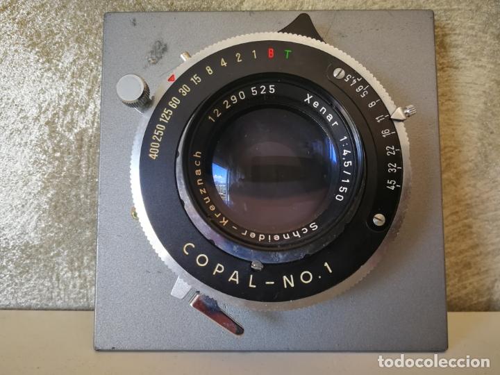 Cámara de fotos: OBTURADOR COPAL NO. 1 CON LENTE XENAR SCHNEIDER - Foto 4 - 165829050