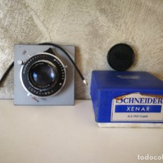 Cámara de fotos: OBTURADOR COPAL NO. 1 CON LENTE XENAR SCHNEIDER. Lote 165829050