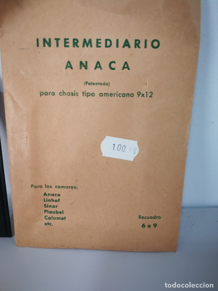 Cámara de fotos: LOTE PORTANEGATIVOS ANTIGUOS ANACA - Foto 3 - 166055714